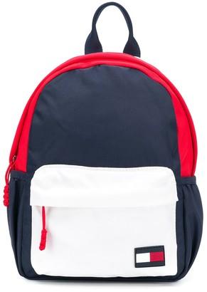 Tommy Hilfiger Junior Colour Block Branded Backpack