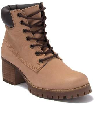 Zigi girl Yessica Suede Lace Up Combat Boot