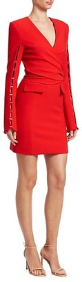 Jonathan Simkhai V-Neck Sheath Dress
