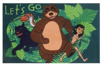 Fun Rugs Jungle Book Let's Go Kids Rugs