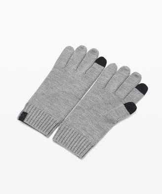 Lululemon Cold Pursuit Knit Gloves *Online Only