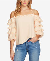 1 STATE 1.STATE Ruffled Halter Top