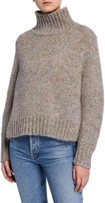 Melange Home Loulou Studio Alpaca Turtleneck Sweater