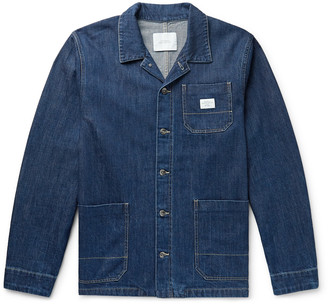 Saturdays NYC Lido Logo-Appliqued Denim Chore Jacket