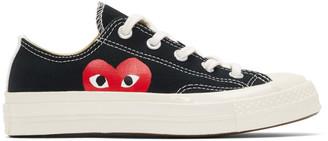Comme des Garcons Black Converse Edition Half Heart Chuck 70 Low Sneakers