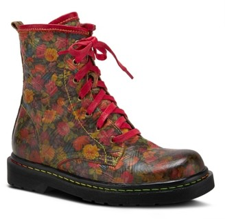 L'artiste By Spring Step Robbi Combat Boot