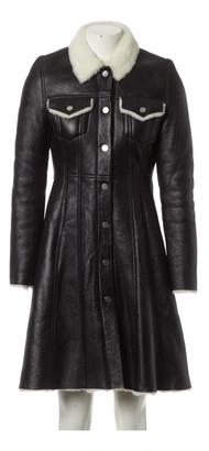 Acne Studios Black Shearling Coats