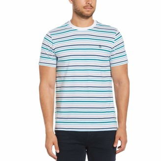 Original Penguin Multi-Color Stripe Tee