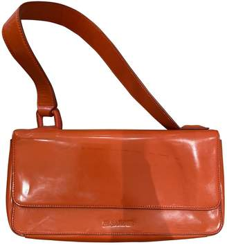 Jil Sander Red Patent leather Clutch bags