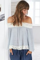aerie Off-The-Shoulder Peasant Top