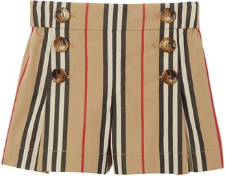 Burberry Tamara Icon Stripe Sailor Shorts
