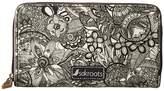 Sakroots Artist Circle Large Zip Around Wallet Wallet Handbags