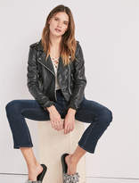 Lucky Brand Core Leather Moto Jacket