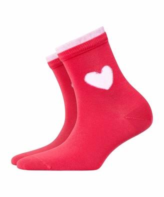 Burlington Women's Heart Ankle Socks