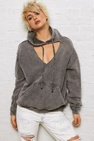 American Eagle Outfitters Don't Ask Why V-Neck Cutout Hoodie
