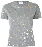 RED Valentino metallic stars T-shirt - women - Cotton - S