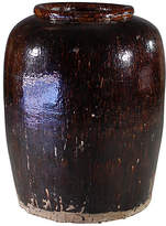One Kings Lane Vintage Earthenware Storage Jar