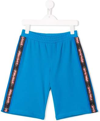 Jeremy Scott Junior TEEN side stripe track shorts
