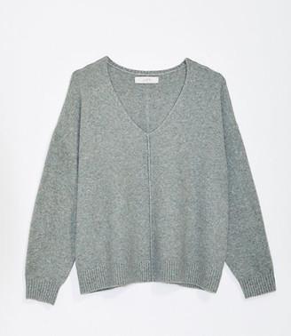 LOFT Cozy V-Neck Sweater