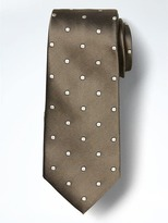 Banana Republic Twill and Dot Silk Nanotex® Tie