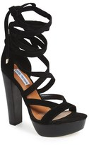 Steve Madden 'Laceit' Platform Sandal (Women)