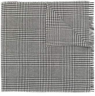 A.P.C. houndstooth scarf