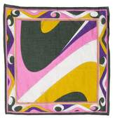 Emilio Pucci Abstract Handkerchief Scarf