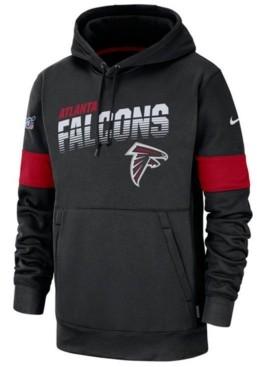 Nike Men's Atlanta Falcons Sideline Line of Scrimmage Therma-Fit Hoodie