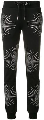 Philipp Plein Rhinestone Embellished Track Pants