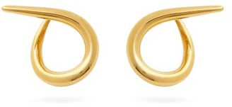 Charlotte Chesnais Spiral 18kt Gold-vermeil Hoop Earrings - Gold