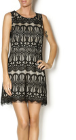 Blu Pepper Lacy Little Black Dress