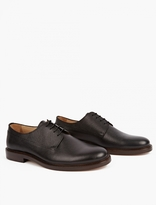 A.P.C. Brown Leather Samuel Derby Shoes