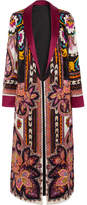 Etro Reversible Printed Satin-jacquard Jacket