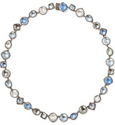 Larkspur & Hawk - Sadie Rivière Rhodium-dipped Quartz Necklace - Silver