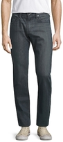AG Adriano Goldschmied Matchbox Distressed Straight Leg Jeans