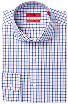 HUGO BOSS Meli Check Trim Fit Dress Shirt