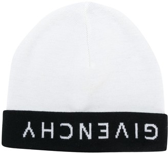 Givenchy Upside Down Logo Beanie