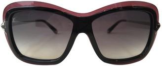 Louis Vuitton Burgundy Plastic Sunglasses