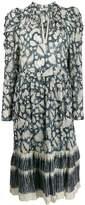 Ulla Johnson long-sleeve flared dress