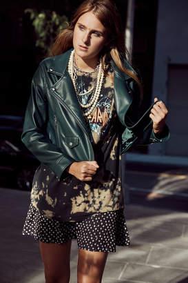 Blank NYC Blanknyc BLANKNYC Faux Leather Moto Jacket