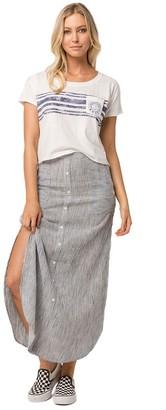 Roxy Junior's Sunset Islands Yarn Dyed Skirt