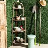Safavieh Indoor / Outdoor 4-Shelf Corner Bookshelf