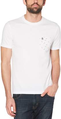 Original Penguin Glasses Print Pocket Tee