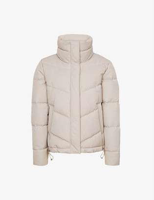 Reiss Dax side-zip puffer jacket
