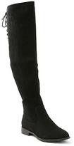 XOXO Black Trish Over-the-Knee Boot