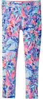 Lilly Pulitzer UPF50+ Mini Weekender Leggings Girl's Casual Pants