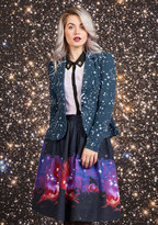 Intergalactic Intuition Midi Skirt in L