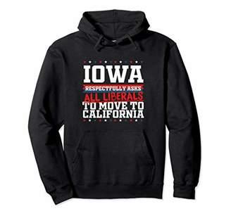 Möve Iowa Asks Liberals to California Republican Pullover Hoodie