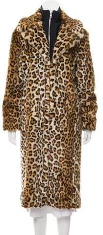 0d5cc8e61f High-Low Leopard Coat