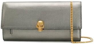 Alexander McQueen Skull chain wallet